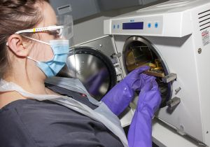 Equipment sterilisation procedures